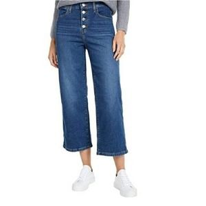 Levi's Mile High Cropped Wide Leg Jeans